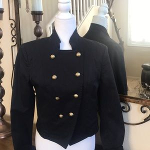 Juicy Couture cropped military jacket